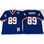 NFL New York Giants Mark Bavaro #89 blue Throwback Jersey