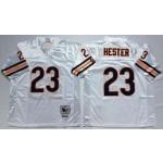 NFL Chicago Bears Devin Hester #23 White Throwback Jersey