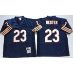 NFL Chicago Bears Devin Hester #23 Blue Throwback Jersey