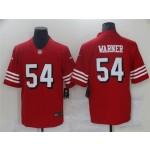 San Francisco 49ers #54 Fred Warner Red Alternate Vapor Limited Jersey