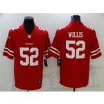San Francisco 49ers #52 Patrick Willis Red Vapor Limited Jersey