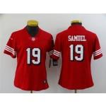 Women's San Francisco 49ers #19 Deebo Samuel Red Alternate Vapor Limited Jersey