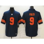 Nike Bears #9 Nick Foles Navy with Orange number Vapor Untouchable Limited Jersey