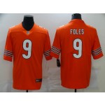 Nike Bears #9 Nick Foles Orange Vapor Untouchable Limited Jersey