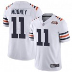 NFL Chicago Bears #11 Darnell Mooney White 100th Vapor Untouchable Limited Jersey