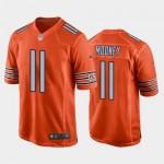 Men's Bears #11 Darnell Mooney Orange Vapor Untouchable Limited Jersey