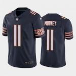 Men's Bears #11 Darnell Mooney Navy Vapor Untouchable Limited Jersey
