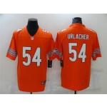 Chicago Bears #54 Brian Urlacher Orange Vapor Limited Jersey