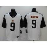 NFL Cincinnati Bengals #9 Joe Burrow Color Rush White Football Jers