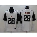 Nike Bengals #28 Joe Mixon White Stitched NFL Limited Rush Jersey
