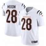 Nike Bengals #28 Joe Mixon White Vapor Limited New Jersey