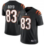 Nike Bengals #83 Tyler Boyd Black Vapor Limited New Jersey