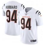 Nike Bengals #94 Sam Hubbard White Vapor Limited New Jersey