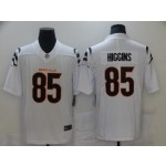 Nike Bengals #85 Tee Higgins White Vapor Limited New Jersey