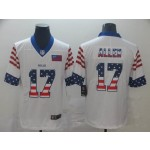 NFL Buffalo Bills Josh Allen #17 White USA Vapor Untouchable Limited Jersey