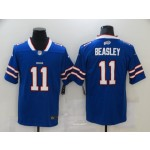 Nike Bills #11 Cole Beasley Royal Blue Team Color Men's Vapor Untouchable Limited Jersey