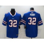 Nike Bills #32 Senorise Perry Royal Blue Team Color Men's Vapor Untouchable Limited Jersey