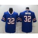 Nike Bills #32 O.J. Simpson Royal Blue Team Color Men's Vapor Untouchable Limited Jersey