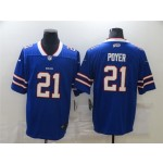Buffalo Bills #21 Jordan Poyer Blue Vapor Limited Jersey