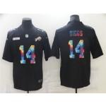 Buffalo Bills #14 Stefon Diggs Black Rainbow Vapor Limited Jersey