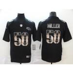 NFL Broncos #58 Von Miller Black Statue Of Liberty Limited Jersey