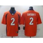 Men's Denver Broncos #2 Patrick Surtain II color rush jersey