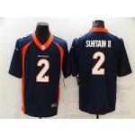 Denver Broncos #2 Pat Surtain II Blue Vapor Limited Jersey