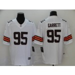 NFL Cleveland Browns Garrett #95 White Vapor Untouchable Limited Jersey