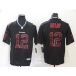 NFL Tampa Bay Buccaneers Brady #12 black-red Jersey
