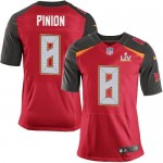 Men's Tampa Bay Buccaneers #8 Bradley Pinion Red Team Color Super Bowl LV 2021 Legend II Jersey
