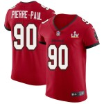 Men's Tampa Bay Buccaneers #90 Jason Pierre-Paul Red Super Bowl LV 2021 Vapor Untouchable Limited NFL Jersey
