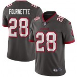 Men's Tampa Bay Buccaneers #28 Leonard Fournette New Grey Vapor Untouchable Limited Stitched Jersey
