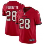 Men's Tampa Bay Buccaneers #28 Leonard Fournette New Red Vapor Untouchable Limited Stitched Jersey
