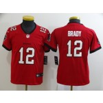 Youth Nike Buccaneers #12 Tom Brady Red New 2020 Vapor Untouchable Limited Jersey