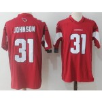 NFL Arizona Cardinals #31 David Johnson Red Vapor Untouchable Limited Jersey