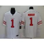 Nike Cardinals #1 Kyler Murray White Team Logos Fashion Vapor Limited Jersey