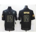 Nike Cardinals #10 DeAndre Hopkins Black 2020 Salute To Service Limited Jersey