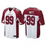 Men's Arizona Cardinals #99 J. J. Watt White Vapor Untouchable Limited Jersey