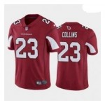 Men's Arizona Cardinals #23 Zaven Collins Red White Black 2021 NFL Draft Vapor Limited Jersey