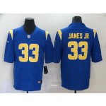 Nike Chargers James Jr #33 Royal Vapor Untouchable Limited Jersey