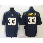 Nike Chargers James Jr #33 navy Vapor Untouchable Limited Jersey