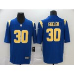 NFL Chargers #13 Austin Ekeler Royal Vapor Untouchable Limited Jersey