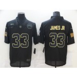 Nike Chargers #33 Derwin James Black 2020 Salute To Service Limited Jersey