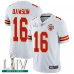 Chiefs #16 Len Dawson White Super Bowl LIV Bound Men's Stitched Football Vapor Untouchable Limited Jersey