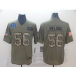 NFL Indianapolis Colts #56 Quenton Nelson Camo 2019 Salute to Service Jersey