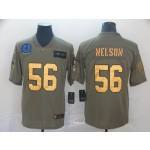 NFL Indianapolis Colts #56 Quenton Nelson Camo Gold 2019 Salute to Service Jersey