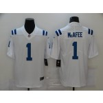 Nike Colts #1 Pat McAfee White Men's Stitched NFL Vapor Untouchable Limited Jersey