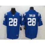 Nike Colts #28 Jonathan Taylor Blue Vapor Untouchable Limited Jersey