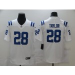 Nike Colts #28 Jonathan Taylor White Vapor Untouchable Limited Jersey