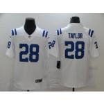 Nike Colts #28 Jonathan Taylor White Vapor Untouchable Limited Jersey